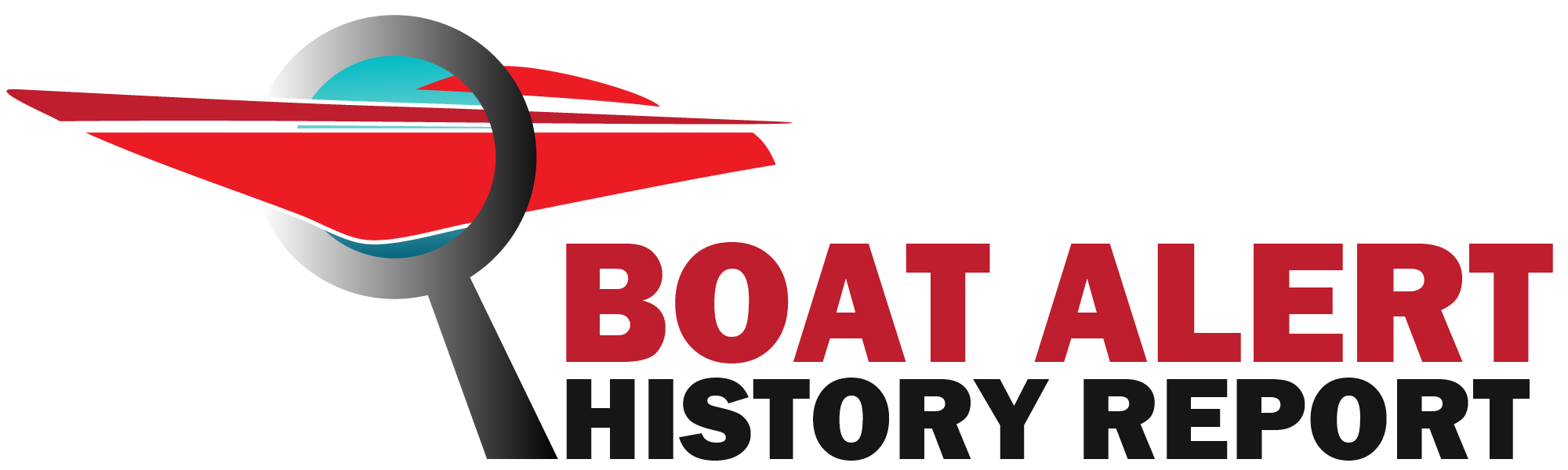Boat Alert Title History Report Logo